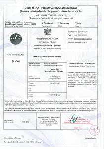 Certyfikat AOC